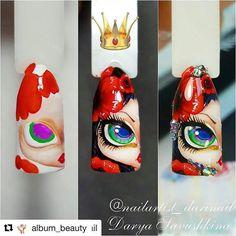 #Repost @album_beauty with @repostapp ・・・ МК от @nailartist_darinail#мкногти