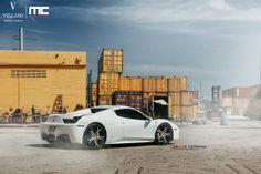 Robinson Cano Ferrari 458 Spider On Vellano Wheels
