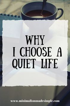 Simple living is essential for having a calm and peaceful lifestyle. Here are some reasons to choose a quiet life. Find the joy of a life lived simply, intentionally, and quietly. Minimalist Lifestyle, Minimalist Living, Modern Minimalist, Slow Living, Mindful Living, Frugal Living, Vie Simple, Self Improvement Tips, Thing 1