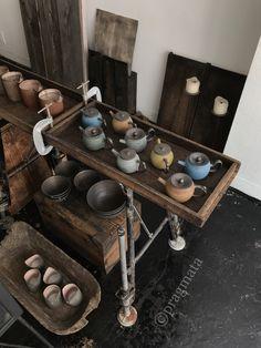 """Colours of roast"" Omura Takeshi ceramics exhibition 「焙じるの色」 大村剛 個展 陶芸 #pragmata"