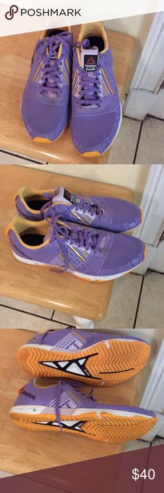 Reebok Lavender cross fits Shoes Sneakers