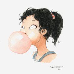 Let's blow a Bubblegum by raultrevino.deviantart.com on @deviantART