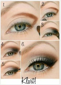Hazel/Silver CatEye in Motives Paint Pot Eye Shadow(Vogue & Marshmallow) and Liquid Eyeliner!   #CatEye #Vogue  #Marshmallow