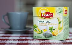 Recenzja herbaty zielonej Lipton Lemon Melissa