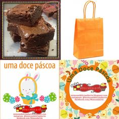 Brownie... hummmm... ótimo presente de Páscoa...  by Cris De Lamônica www.facebook.com/MimosdaCris instagram: @mimosedeliciasdacris www.mimosedeliciasdacris.blogspot.com