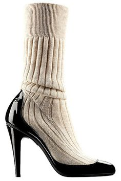 Chanel Spring 2014 RTW Sock-Pumps
