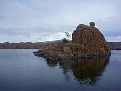 Small island in AZ ~ Watson Lake