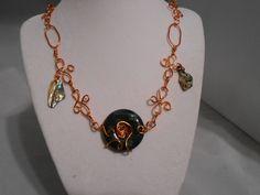 Copper Wired Jasper Set by KsJewelryBox on Etsy, $27.00