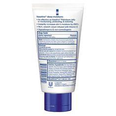 Vaseline Deep Moisture Vitamin E Petroleum Jelly Cream 4.5 oz