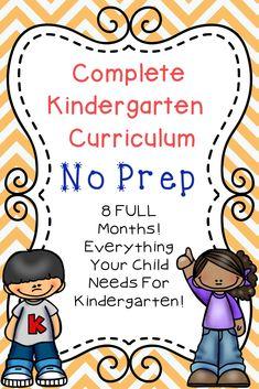 Kindergarten Curriculum - The Relaxed Homeschool