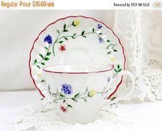 Johnson Bros Porcelain Teacup - Tea Cup and Saucer