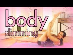 Body Slimming Workout   POP Pilates for Beginners
