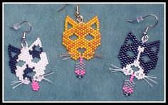 Fill in eyes and nose and get rid of the tongue/bell - kitty earrings