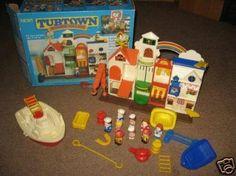 Tub Town Harbor Village Bath Toys Vintage Toys 80s Toys
