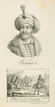 Fatih Sultan Mehmet (2.) 1444 - 1446, 1451 - 1481