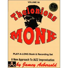 Check out the Thelonious Monk - Volume 56 Availible at Carlingford Music Centre Thelonious Monk, Long Books, Online Music Stores, Booklet, Album Covers, Jazz, Writing, The Originals, Musicians