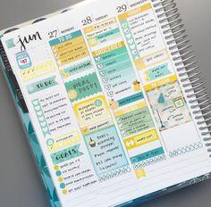 Discbound Planner, Planner Diy, Cute Planner, Planner Layout, Goals Planner, Planner Organization, Planner Ideas, Create 365 Happy Planner, Household Binder
