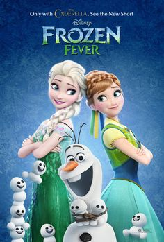 Affiche Reine des Neiges 2 Frozen Fever