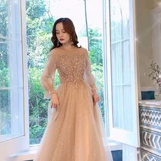 Long Sleeve Evening Dresses, Cheap Evening Dresses, Evening Gowns, Pink Prom Dresses, Dresses Kids Girl, Wedding Dresses, Champagne Evening Dress, Pakistani Party Wear Dresses, Party Gowns