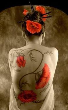 amazing Asian tattoo