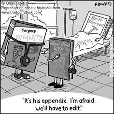 Oh no, not the appendix!