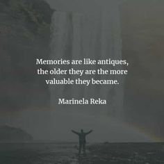 75 Memories quotes and sayings that'll teach you a lesson. Here are the best memories quotes and inspirational memories sayings to read from. Good Memories Quotes, Memories Faded, Bad Memories, Marilynne Robinson, Life Before You, Gabriel Garcia Marquez, When I Die, Terry Pratchett, Haruki Murakami