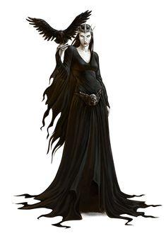 Morrigan by albe75.deviantart.com on @deviantART #raven queen