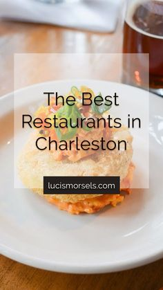 If you ever find yourself in Charleston, you have to try out my restaurant recommendations! Everywhere I ate was delicious and was a foodies dream! Fried Egg Burger, Best Charleston Restaurants, Duck Fat Fries, Bacon Cornbread, Crab Soup, Sweet Potato Pancakes, Cinnamon Butter, Travel Pics, Crab Cakes
