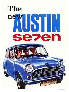 The Austin Seven Advertising Poster