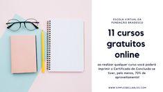 11 cursos gratuitos online: redação, fotografia, negócios, design e informática