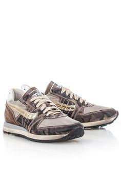 Primabase 28513 Legergroen-Sneaker animal