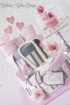 Tartas de cumpleaños - Birthday Cake - Sweet Sixteen cake