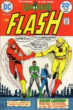 Reversal of fortune: Reverse-Flash and regular Flash are buddies and Green Lantern doomed in Professor Zoom's time?