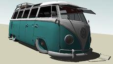 3D-Modell von VEE DUB 23 window