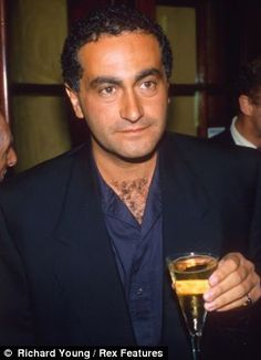 Diana and Dodi Al Fayed (pictured) and chauffeur Henri Paul died after their Mercedes crashed in a tunnel in Paris on the morning of August 1997 Princess Diana And Dodi, Diana Dodi, Princess Car, Princess Diana Death, Princess Of Wales, Real Princess, Lady Diana, Princesa Diana, Wells