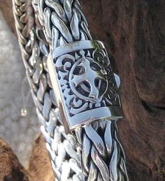The Crusader Silver Bali Bracelet
