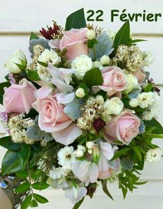Roses, sweet pea, hypericum berries, dusty miller and gum leaves. By Karen. Dusty Miller, Whimsical, Floral Wreath, Bouquet, Wreaths, Seasons, Bridal, Rose, Pink Bows