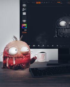 coffeeeeeeeeeeee, Revnic Claudiu on ArtStation at https://www.artstation.com/artwork/Ax0wX