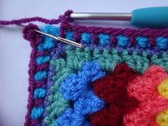 """""""Spot On"""" edging tutorial by Lucy of Attic24"""