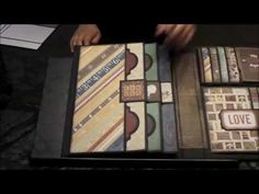 """Family Foto Folio (Echo Park """"Reflections"""" and Simple Stories """"Legacy"""") - YouTube"""
