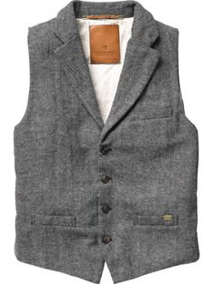 waistcoat / vest / 'fancy gilet' multiple colorways, scotch&soda