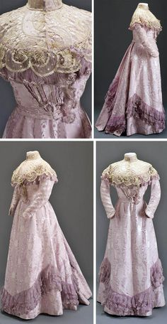 Dress, Hungarian, ca. 1900. Museum of Applied Arts, Budapest