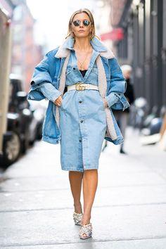 Most stylish women at the New York Men's Fashion Week 2018   British GQ
