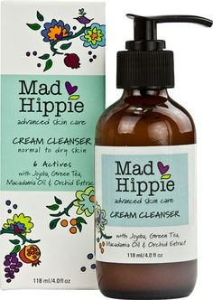 FACE CLEANSER - SUNKISSALBA RECOM - Mad Hippie Cream Cleanser Normal to Dry Skin 118 mL