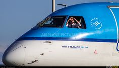 High quality photo of KLM Cityhopper Embraer ERJ-190 (190-100) by DennyRingenier. Visit Airplane-Pictures.net for creative aviation photography.
