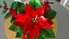 Poinsettia - Cake by Zdenek