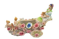 "Intricate ""Occupied Japan"" Porcelain Shoe www.riverinmotion.com"