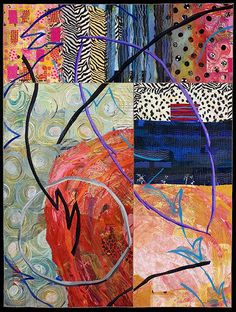 Sue Benner art quilt workshop : Driven to Abstraction