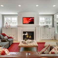 Family Room Design Design Ideas Living Room Family Rooms House Idea