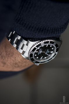 It's definitely a jumper day, today - chilly! #Rolex Sub #14060M